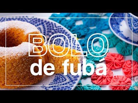 BOLO DE FUBÁ COM LEITE DE COCO (sem glúten) - naminhapanela.com