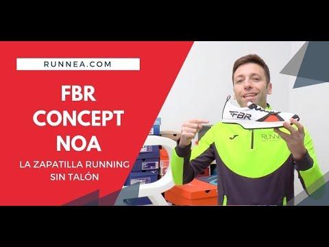 FBR Concept Noa, la zapatilla running sin talón