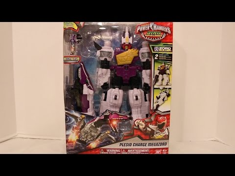Deluxe Plesio Charge Megazord [Power Rangers Dino Super Charge]