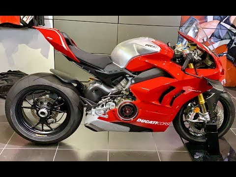 Ducati Panigale V4R Walkaround + Sound - EXCLUSIVE
