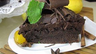 Рецепт- Шоколадно-ореховый торт