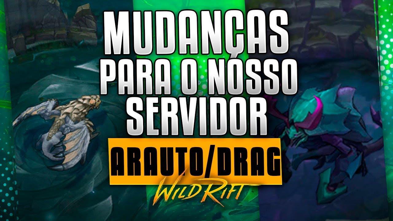 ESSA MUDANÇA NO DRAG/ARAUTO VAI DEIXAR O WILDRIFT DIFICIL!