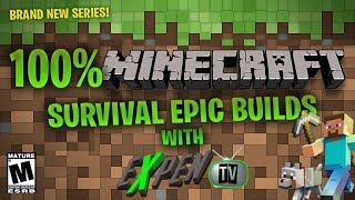 (RATED 18+) EPIC MINECRAFT SURVIVAL ON HARD(DAY 11) MEGA BUILD (PART 7) [Ps4]
