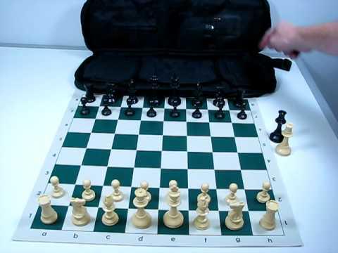 Quality Tournament Chess Set Combo - YouTube
