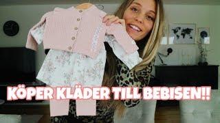 GRAVID VECKA 27 | Köper bebisens första kläder!