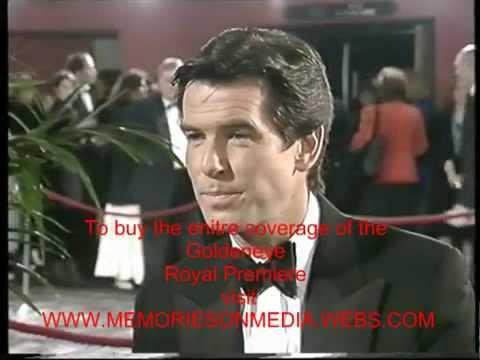 JAMES BOND 007 PIERCE BROSNAN GOLDENEYE PREMIERE 1