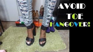 How to Avoid Toe Hangover!