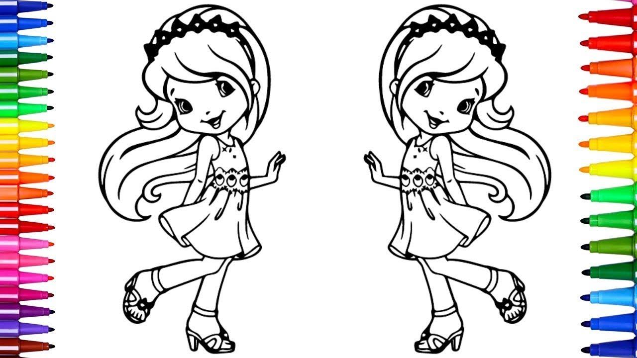 Desenhos Para Colorir Colorindo Princesas Pequena Princesa