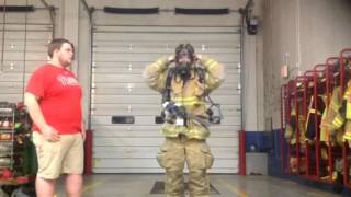 How to video- how to put on turnout gear