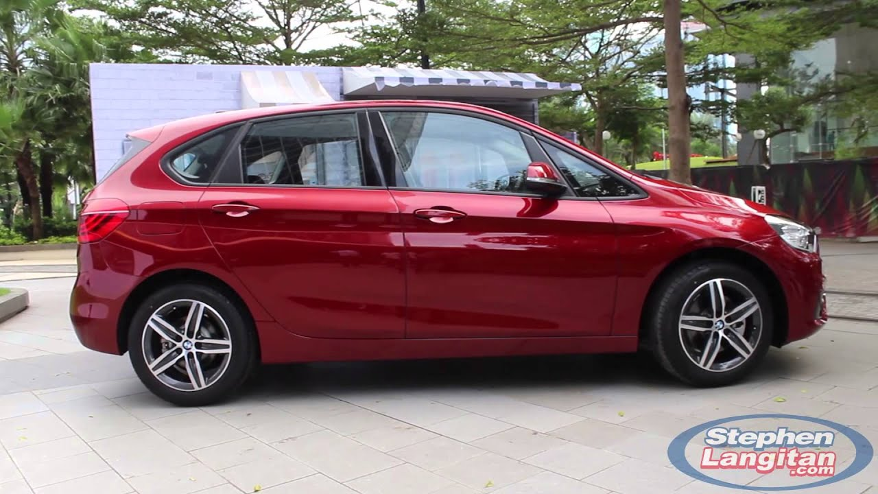 bmw 218i active tourer launched in indonesia youtube. Black Bedroom Furniture Sets. Home Design Ideas