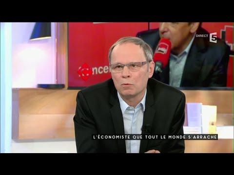 Jean Tirole, prix nobel de l'Economie - C à vous - 11/05/2016