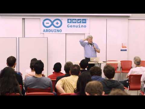 """""""Electronics for the Humanities"""" by Tom Igoe at Arduino Day"""
