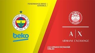 Fenerbahce Beko Istanbul - AX Armani Exchange Milan Highlights | EuroLeague, RS Round 21