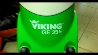 видео Садовый измельчитель VIKING GE 420 (с воронкой)