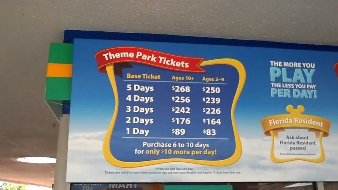 Disney World Ticket Deals