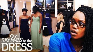 Bride Threatens to Kick Bridesmaids Out the Wedding! | Say Yes To The Dress Bridesmaids