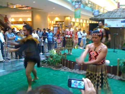 Maori combat demonstration