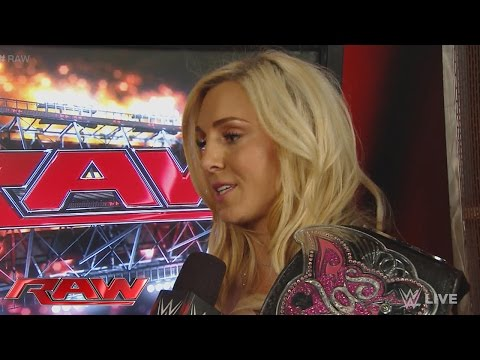 Charlotte reveals her mindset heading into Hell in a Cell: Raw, Oct. 5, 2015