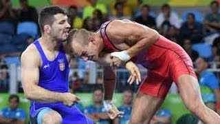 Rio Olympics 2016 - Davor Stefanek wins Serbia's first gold medal in Wrestling