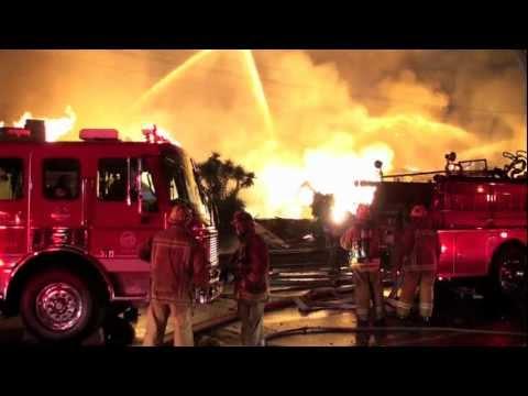 LAFD / Titanium Scrap Warehouse Explosion / Part Two Of Three