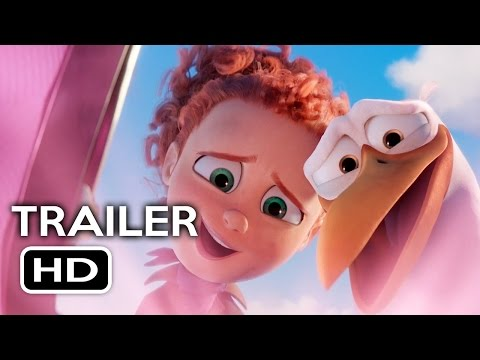 Thumbnail: Storks Official Trailer #1 (2016) Kelsey Grammer, Andy Samberg Animated Movie HD
