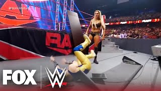Nikki A.S.H. and Charlotte Flair clash in No Holds Barred Match   MONDAY NIGHT RAW