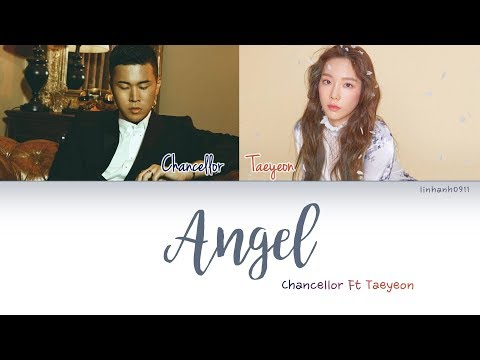 TAEYEON(태연) X CHANCELLOR (챈슬러)_ 'Angel' Lyrics [Color Coded_Han_Rom_Eng]