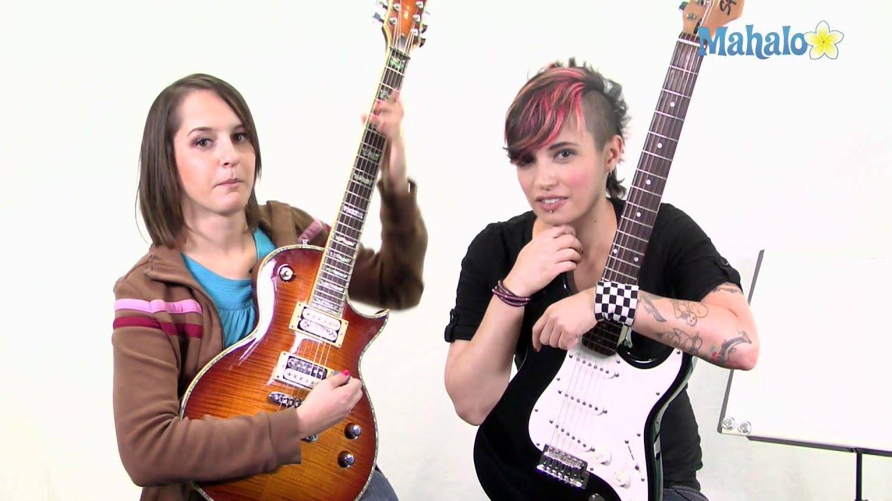 humbucker vs single coil on electric guitar youtube. Black Bedroom Furniture Sets. Home Design Ideas