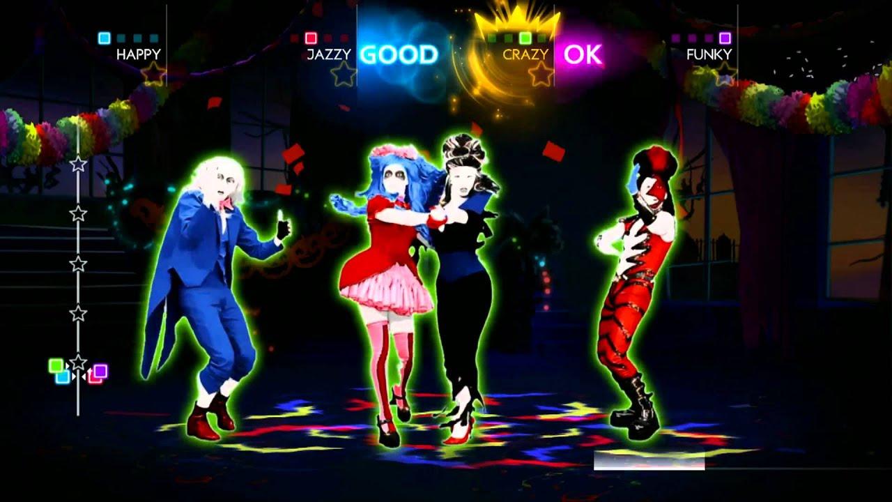 halloween thrills time warp just dance 4 gameplay