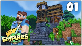 Empires SMP - A New Adventure!! - Episode 1 [Minecraft 1.17 Let's Play]
