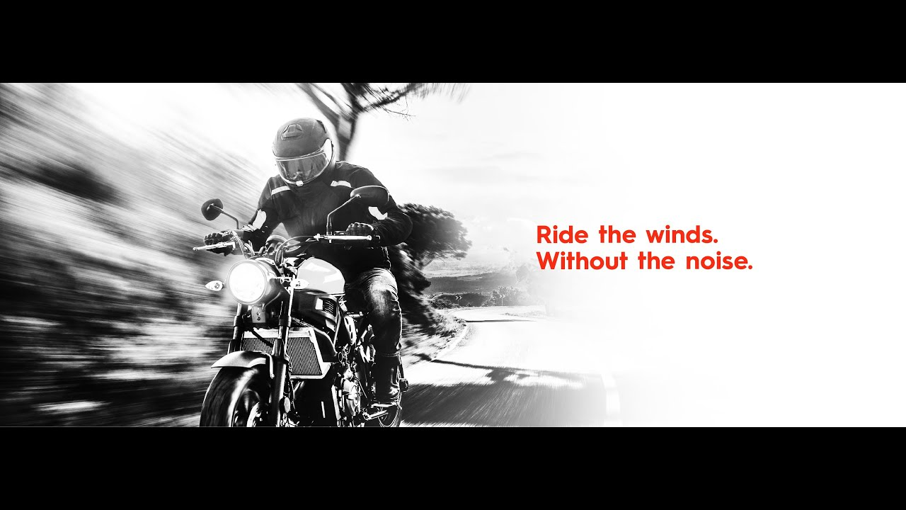DAAL Active Noise Control for Motorcyclists
