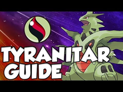 Mega Tyranitar In Pokemon Sun and Moon! 7th Gen Tyranitar Moveset