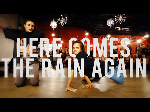 "YANIS MARSHALL HEELS CHOREOGRAPHY ""HERE COMES THE RAIN AGAIN"" EURYTHMICS. FEAT JADE  CHYNOWETH."