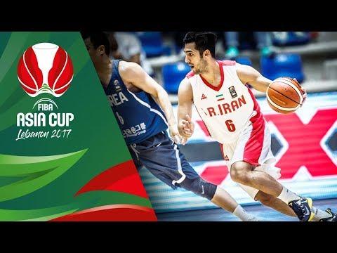 Iran v Korea - Full Game - Semi-Final - FIBA Asia Cup 2017