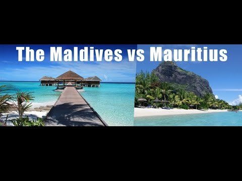 Maldives vs Mauritius   Budget travel  