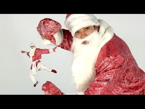 Дабстеп Дед Мороз зажигает Новый год :)