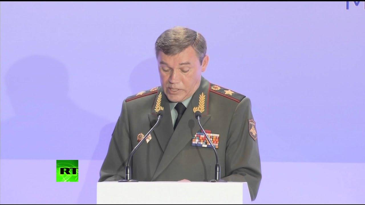 Глава Генштаба РФ: События на Украине обострили военно-политическую обстановку в мире