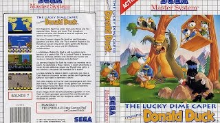 The Lucky Dime Caper  Starring Donald Duck (  Sega Master System ) 1991