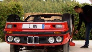 Upside down: BMW Cabrio auf dem Kopf (Usedom Edition)