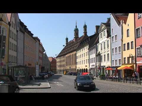 Entlang der Romantischen Straße nach Landsberg am Lech - HD
