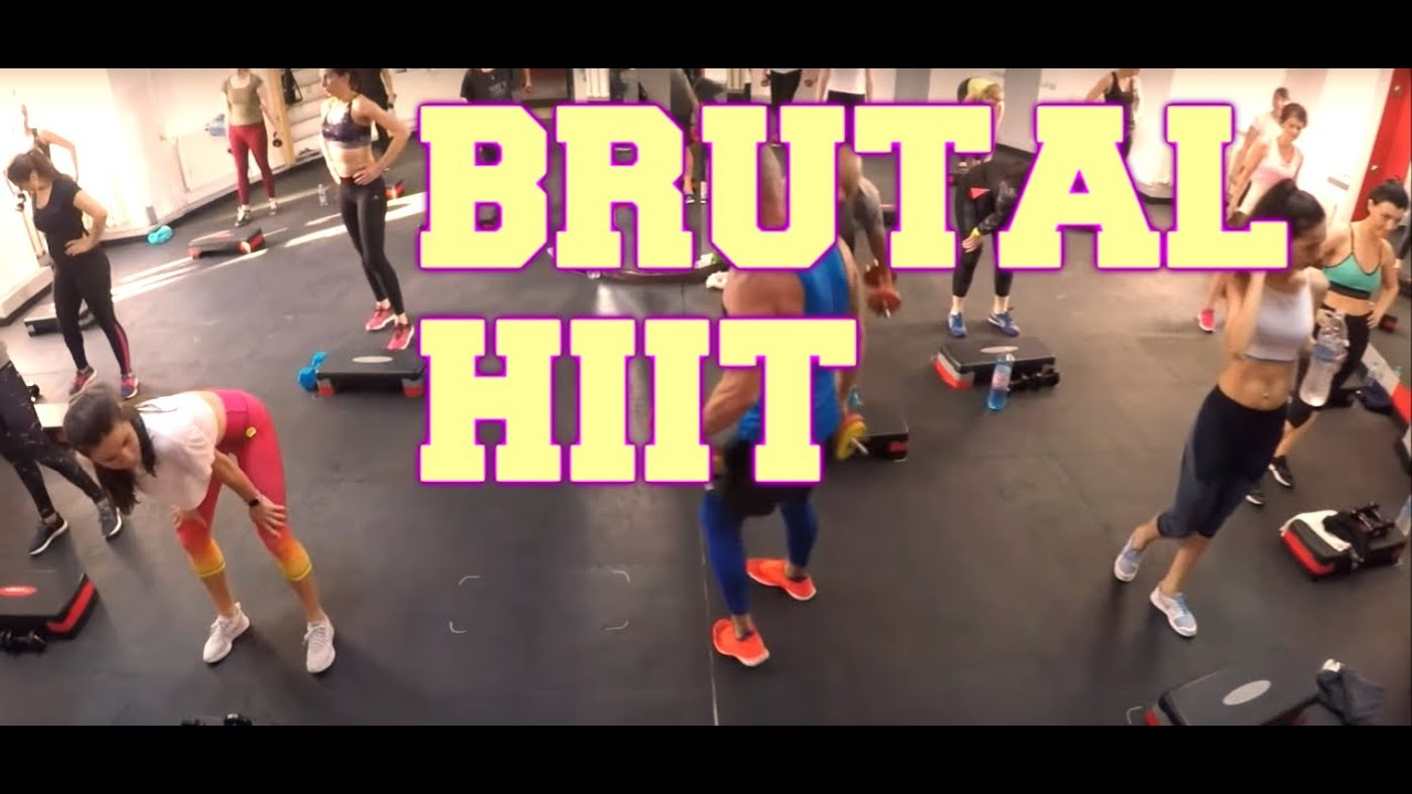 Download Insanity Brutal HIIT Workout - 47 Minute HIIT Workout at Home 2 Dumbbells Ejercicios en casa.