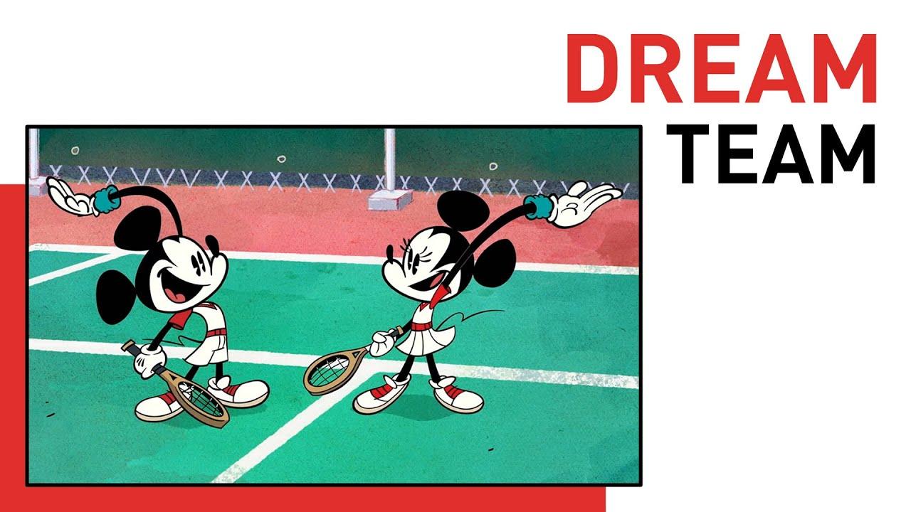Dream Team - Mickey and Minnie | Style of Friendship | Disney Shorts