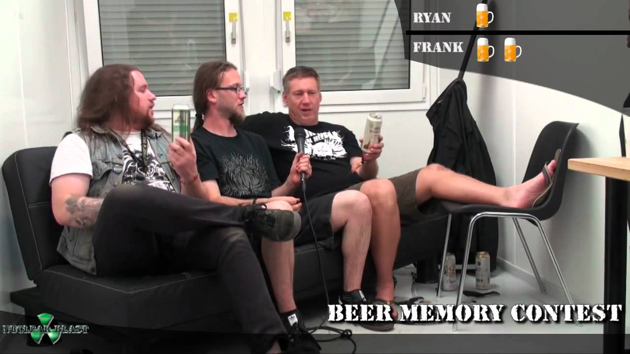 MUNICIPAL WASTE vs TANKARD - Beer Memory Game at Summer Breeze 2012 (OFFICIAL)