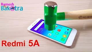 Redmi 5A Screen Scratch Test