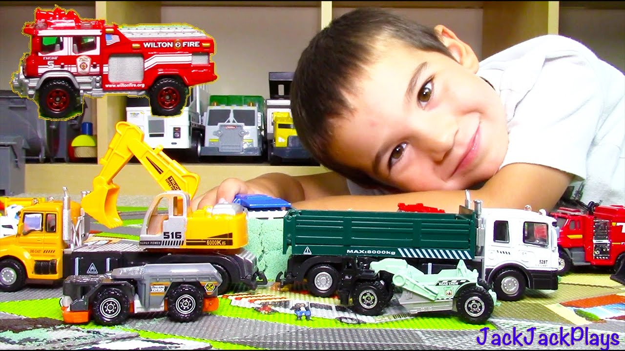 Best Matchbox Cars And Toys For Kids : Matchbox truck surprise toy unboxing compilation