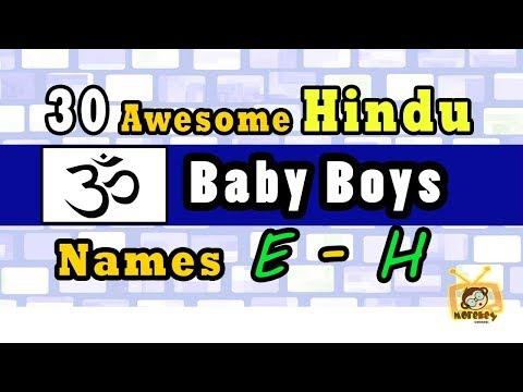 30 Hindu Baby Boy Names Start From 'E' to 'H' 2018, Hindu Baby Names 2018