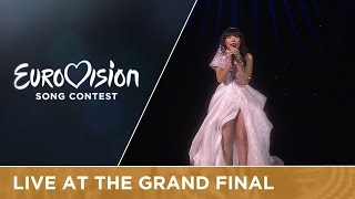 LIVE - Dami Im - Sound Of Silence (Australia) at the Grand Final(Add or Download the song to your own playlist: https://ESC2016.lnk.to/Eurovision2016QV Download the karaoke version here: ..., 2016-05-14T20:18:18.000Z)