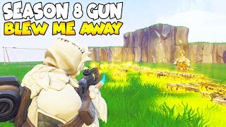 Cette saison 8 Gun Will Blow You Away! 😱 must Watch (Scammer Gets Scammed) Fortnite Save The World