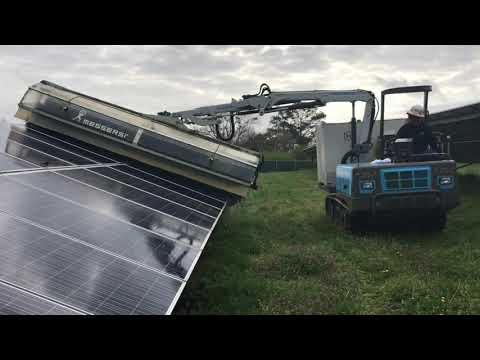 Solar Panel Wash Day