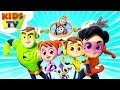 Meet The Supremes | Superheroes Cartoons | Nursery Rhymes For Children - Kids TV
